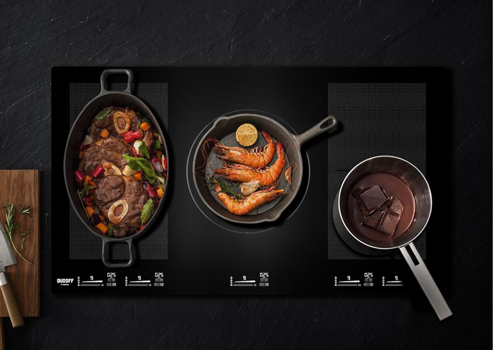 bếp từ nhiều vùng nấu